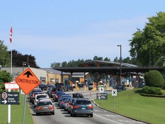 US-Canadian Border Crossing