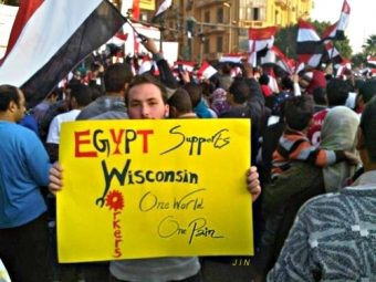 Egypt Supports Wisconsin