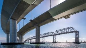 Bay Bridge demolition and steel