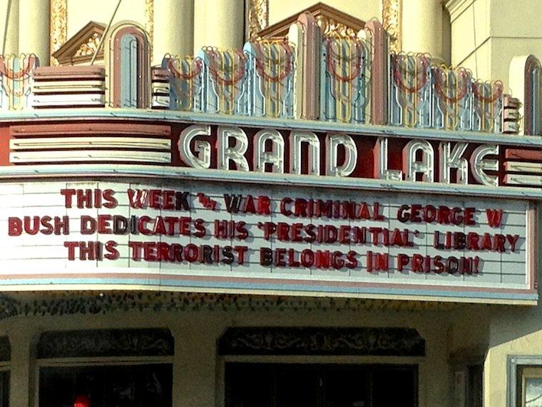 War Criminal George W. Bush