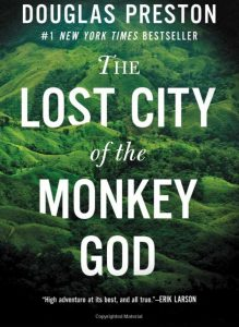 Book Cover Lost City of the Monkey God