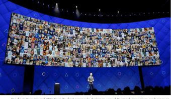 Mark Zuckerberg Facebook Developers Conference