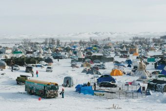 Standing Rock Sioux Camp