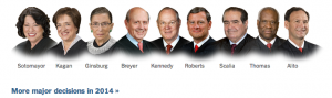 Supreme Court Justices 2014