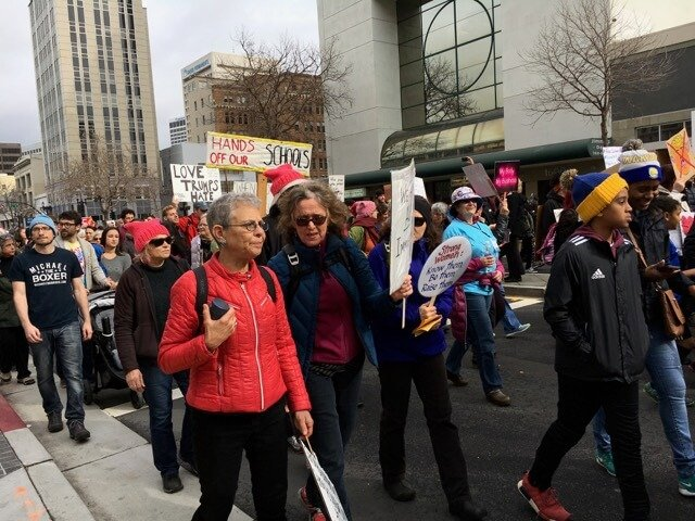 Womens March Oakland, CA 1/21/17
